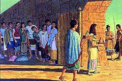 Nephites prepared to escape