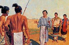 Lamanites spare Nephites