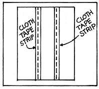 Cut cloth tape