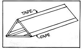 triangular tube