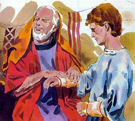 He told Isaac he was Esau