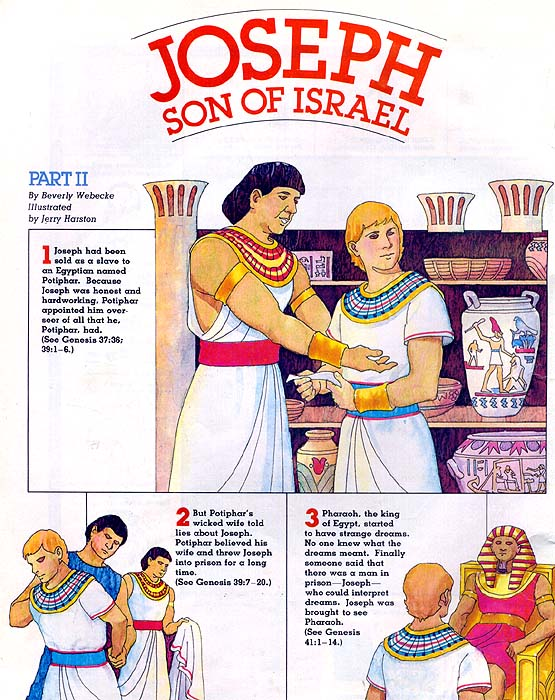 Joseph, Son of Israel