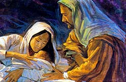 He told the people Jesus would soon be born