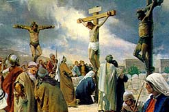 Wicked men would crucify Jesus