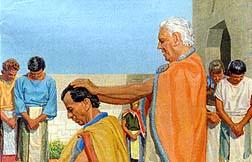 Mosiah the new king