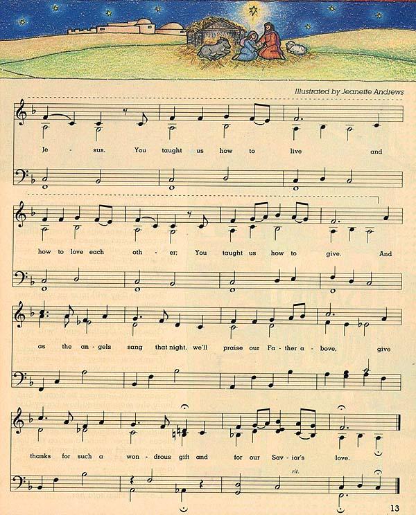 Music, The Baby Jesus