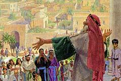 Lehi warned the people of Jerusalem