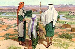 Lehi told Laman and Lemuel to keep the commandments