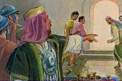 Laban's men tried to kill the sons
