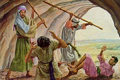 Laman and Lemuel were angry with Nephi