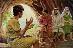 Nephi told his brothers to have faith