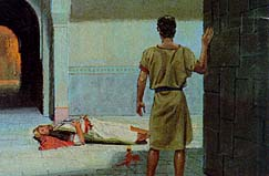 The Holy Ghost helped Nephi know what to do