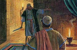 Nephi went to Laban's house