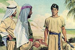 Laman and Lemuel made fun of Nephi