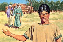 Nephi told Laman and Lemuel to obey God