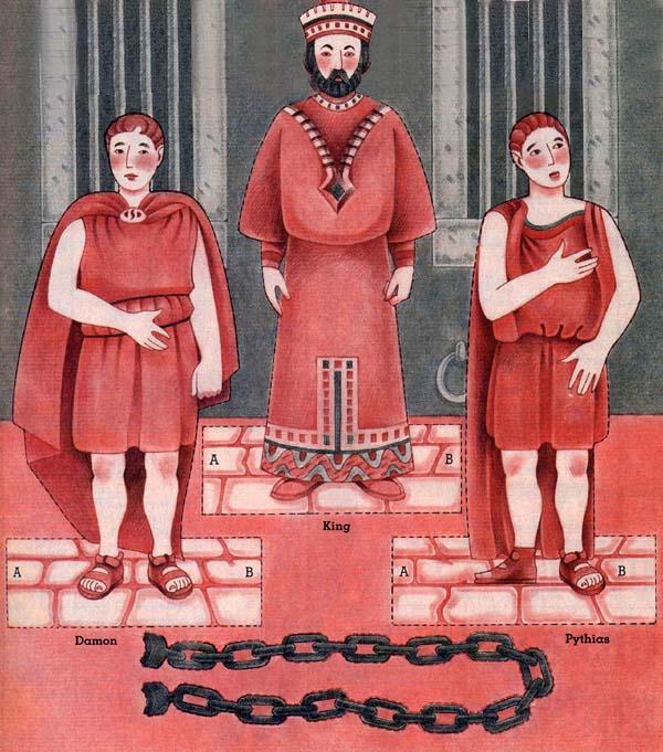 Damon; King; Pythias