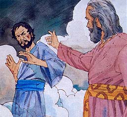 Satan visited Moses