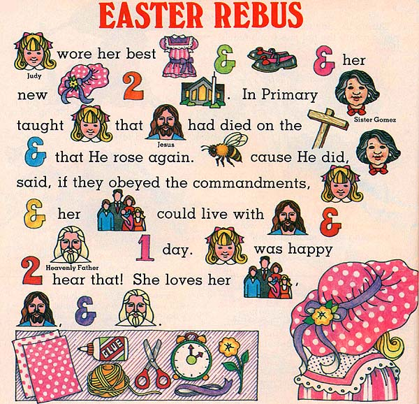 Easter Rebus