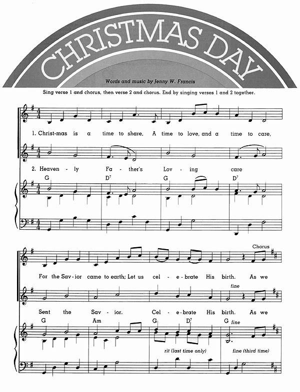 Music, Christmas Day
