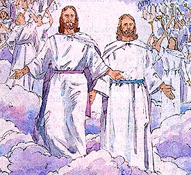 Joseph and Sidney see Heavenly Father and Jesus