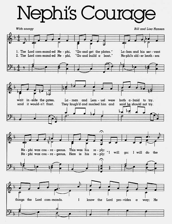 Music, Nephi's Courage