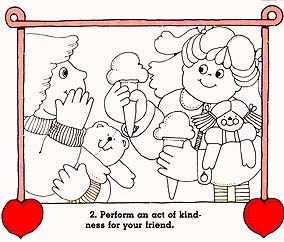 coloring pages acts of kindness - free coloring pages