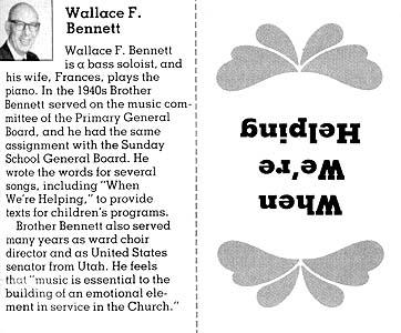 Wallace F. Bennett