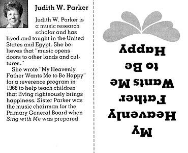 Judith W. Parker