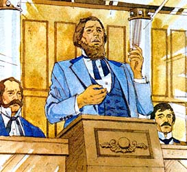 Brigham Young became the prophet