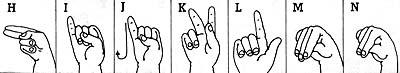 The Manual Alphabet