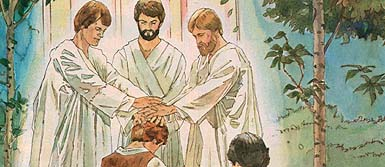 Peter, James and John appear