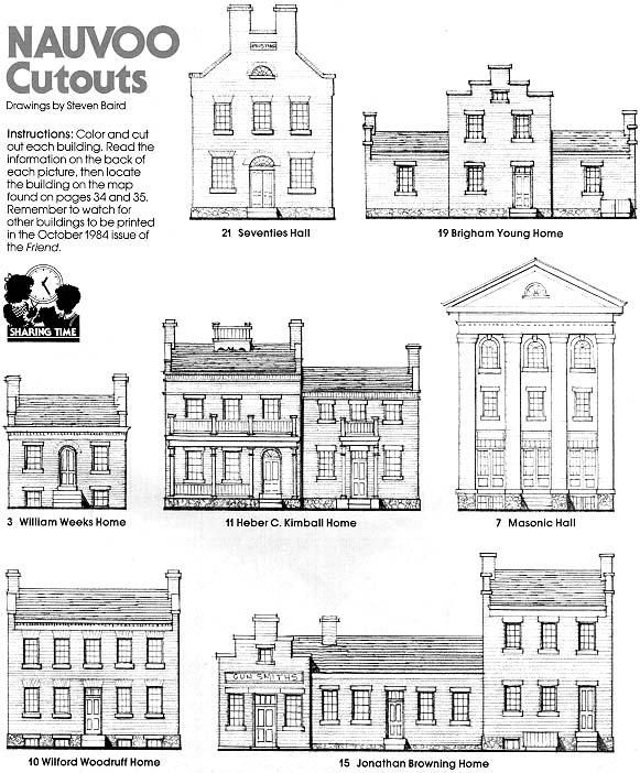 Nauvoo Cutouts