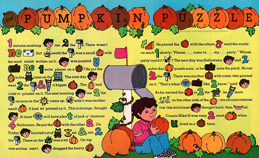 The Pumpkin Puzzle