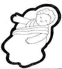 Nativity cutouts