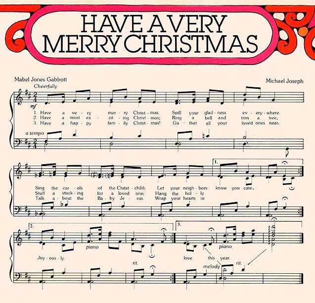 Music, Have a Very Merry Christmas