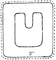 Shoe Buckle Pattern