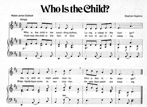 Music, Who Is the Child?