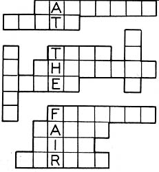 Fair Fill-in Puzzle