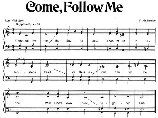 Music, Come, Follow Me
