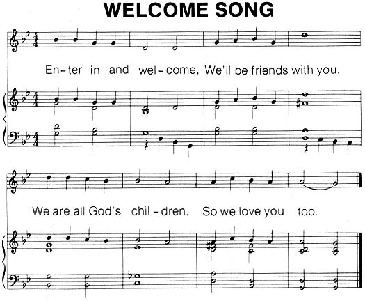 Music, Welcome Song