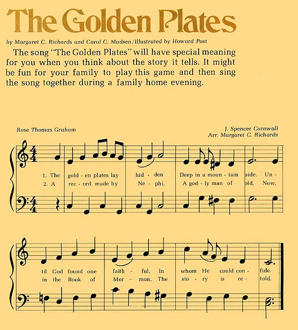 Music, The Golden Plates