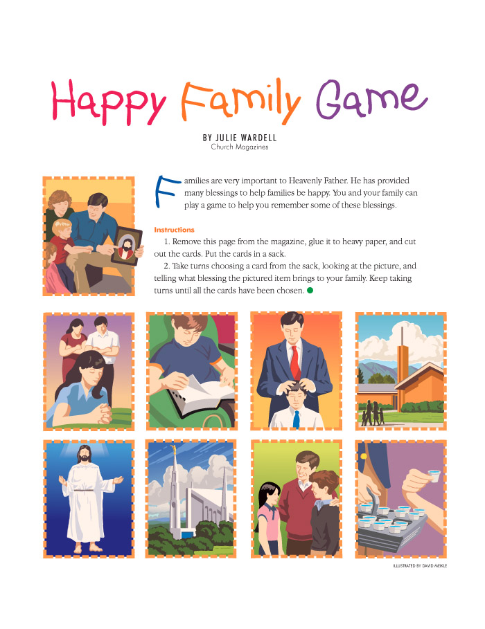 Happy Family game