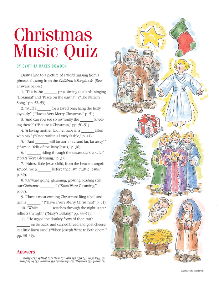 Christmas Music Quiz