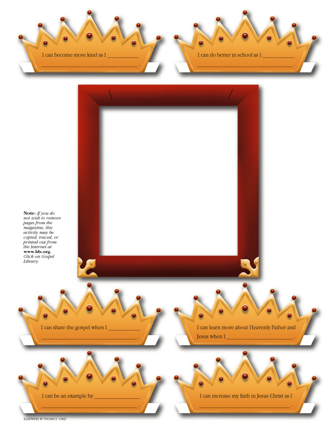 Child of God Crown Frame
