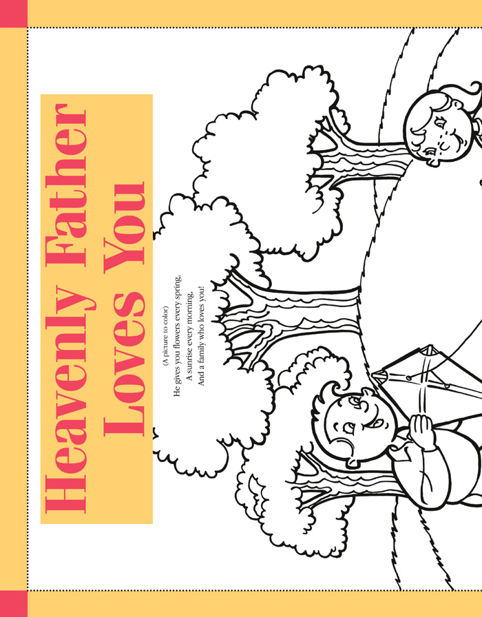 friend magazine coloring pages - lds coloring pages 2018 2009