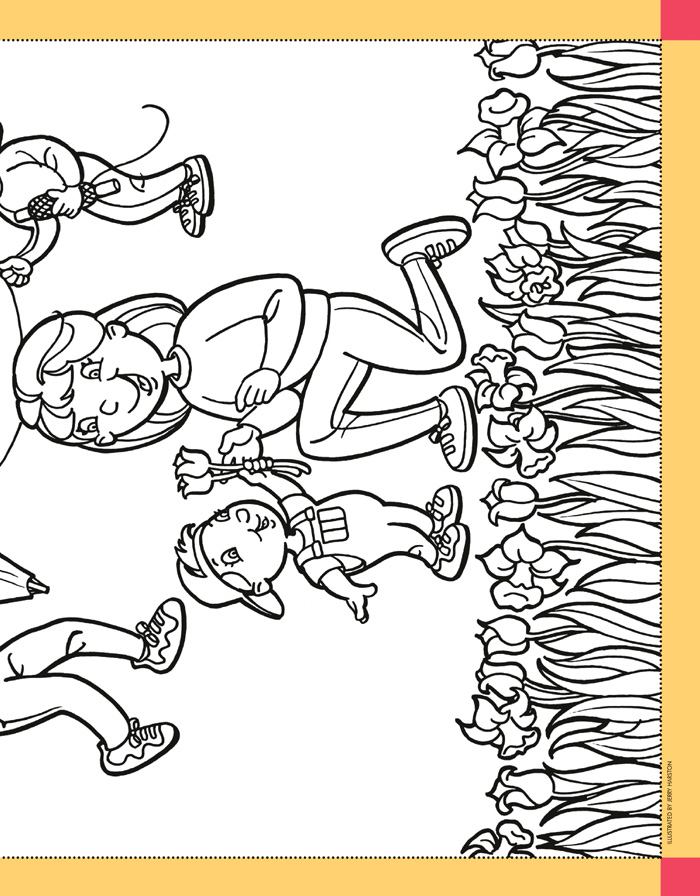2003 Friend LDS Coloring Pages