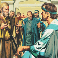 Paul and Silas accused of troubling the city