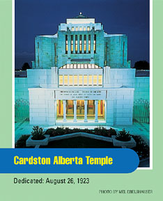 Cardston Alberta Temple