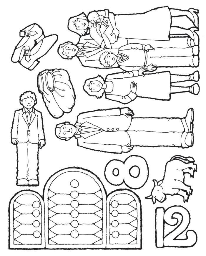 flannel-board figures