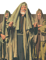 Pharisees angry